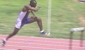 2002 Mt Sac Relays 400 Intermediate Hurdles Champion 50 57 2000 Sydney Olympic Games In The 110 And For Barbados